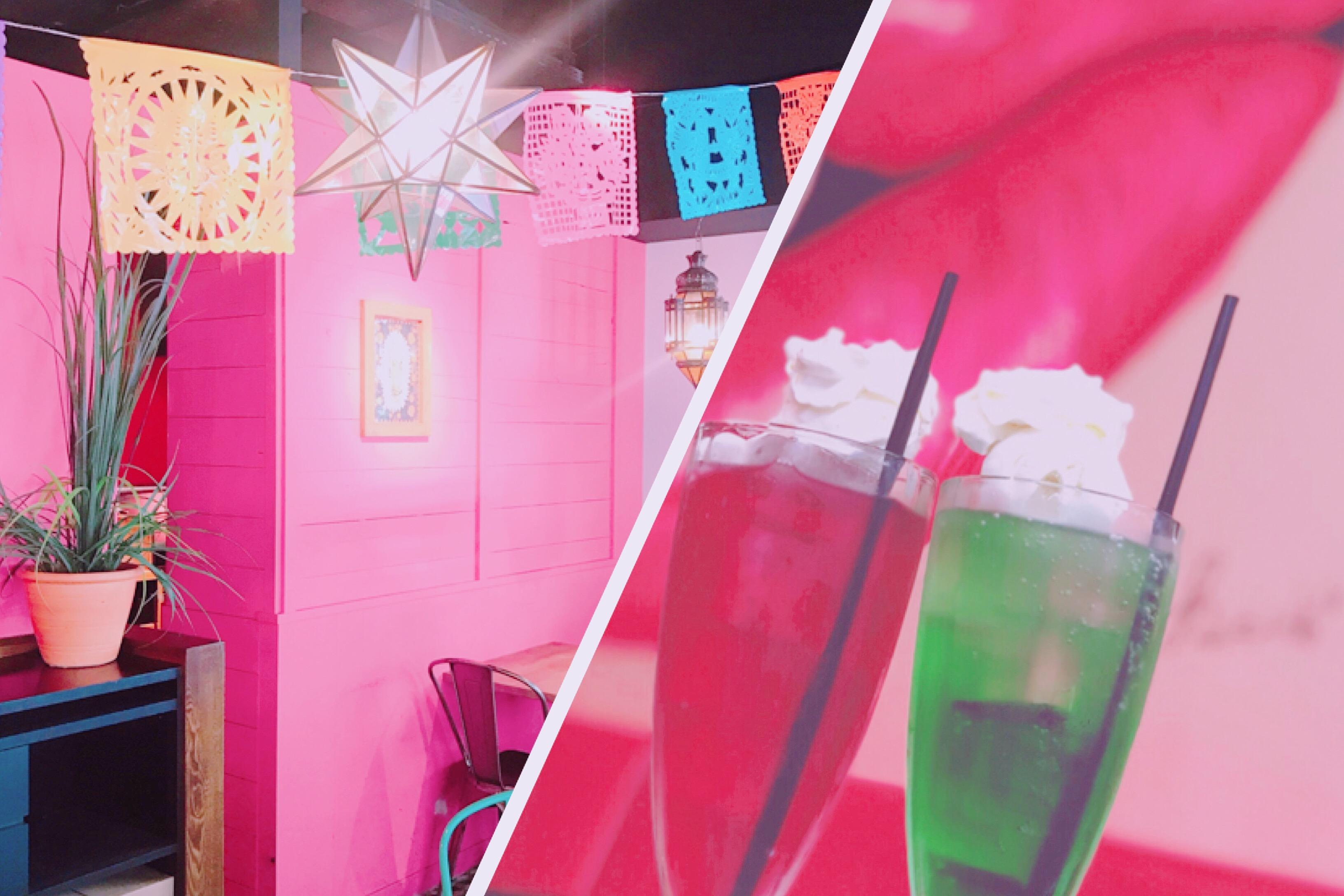 渋谷で発見!ピンクでかわいいフォトジェニックカフェ♡